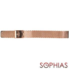 スイスミリタリー 純正 腕時計 替えベルト プリモ メッシュ メタル レディース 12mm幅