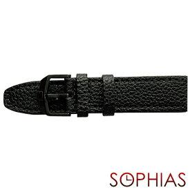 スイスミリタリー 純正 腕時計 替えベルト アロー ブラック レザー 23mm幅