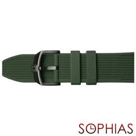 スイスミリタリー 純正 腕時計 替えベルト トゥワイライト グリーン 24mm幅