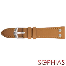 スイスミリタリー 純正 腕時計 替えベルト アンダーカバー ライトブラウン 22mm幅
