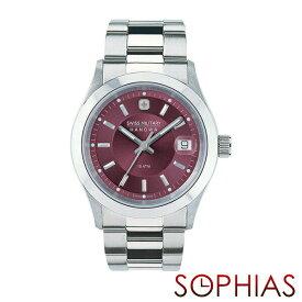 c1407c6f61 スイスミリタリー 腕時計 ML305 エレガント プレミアム ワインレッド メンズ 【長期保証5年付】
