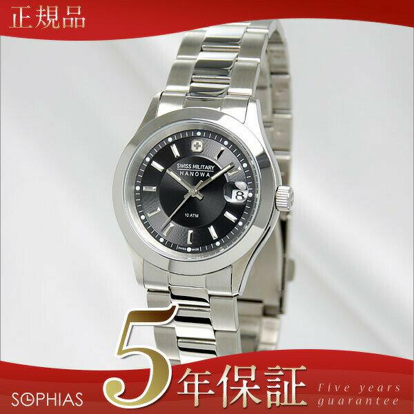 スイスミリタリー 腕時計 ML300 エレガント プレミアム ブラック メンズ 【長期保証5年付】