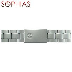 SWISS MILITARY/スイスミリタリー/腕時計/ベルト/ 純正 腕時計用ベルト クラシックメタルマット メンズ 18mm幅