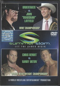 WWE サマースラム 2004 【DVD】【RCP】