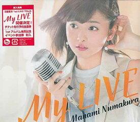 My LIVE 初回限定盤B / 沼倉愛美 【CD】
