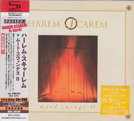 ムード スウィングズ 2 初回生産限定盤 / ハーレム スキャーレム 【CD、DVD】