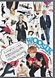 WOOSIK 1172days Thanks For MIRACLE 【DVD】