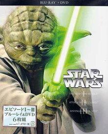 スター ウォーズ プリクエル トリロジー Blu-ray+DVDセット 【DVD、Blu-ray】【あす楽対応】