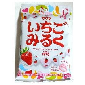 いちごみるく100g(サクマ製菓)