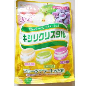 キシリクリスタルのど飴(フルーツアソート)59g春日井製菓