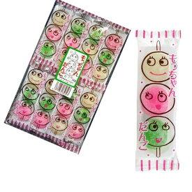 【駄菓子】もっちゃんだんご3個入りx24パック(3色だんご)共親製菓