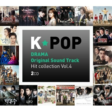 VA (2CD) 韓国ドラマOST / 『K-POP DRAMA OST Hit collection Vol.4』