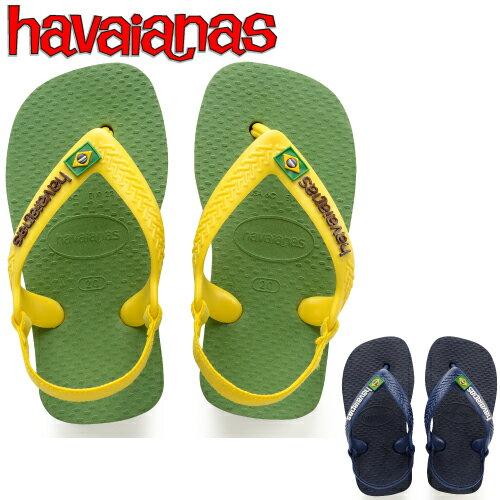 【再値下げしました】HAVAIANAS ハワイアナス ブラジル ビーチサンダル NEW BABY BRASIL LOGO ニュー ベビー ブラジルロゴ 2018モデル