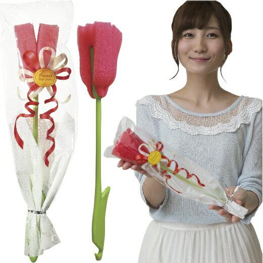 【お花のスティックスポンジ】景品/粗品/花束/キッチン/イベント