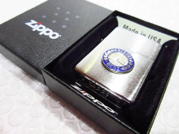 メルセデスベンツ Zippo ジッポライター/シルバー 【MERCEDES-BENZ】