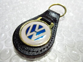 VW フォルクスワーゲン 本皮キーホルダーG 【廃盤品】