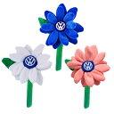 VW US純正 ビートル プラッシュデイジー・フラワー 1 【VW GENUINE PARTS】