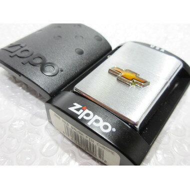 シボレー・ボウタイ Zippo/シルバー ジッポライター 【type1】