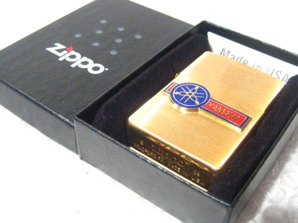 ヤマハ Zippo/真鍮製ジッポライター YAMAHA 【ZIPPO】