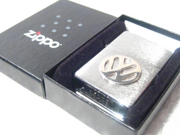 VW フォルクスワーゲン Zippo/ジッポ・ライター 【Silver】