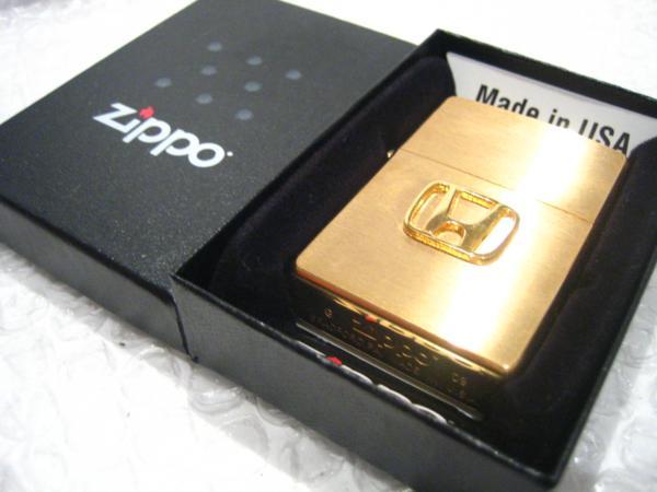 ホンダ Zippo 真鍮製ジッポライター HONDA