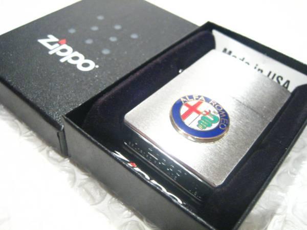 アルファロメオ Zippo ジッポライター/シルバー ALFA-ROMEO