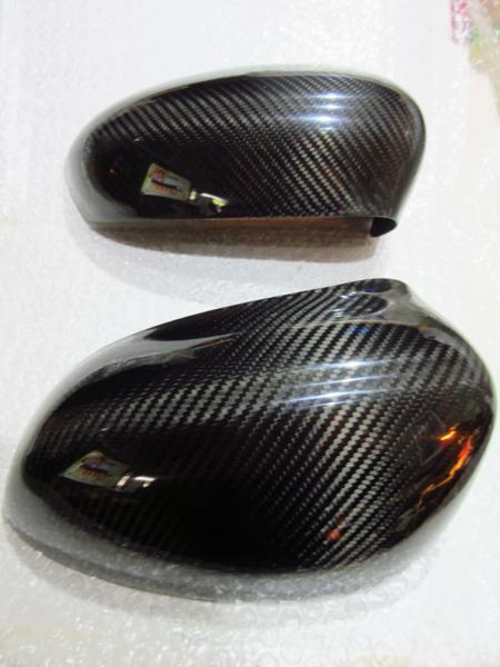 FIAT500/ABARTH500 ドアミラーカバー/BKカーボン 【OMTEC】