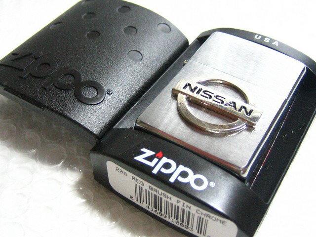 日産/ニッサン Zippo シルバー・ジッポライター NISSAN