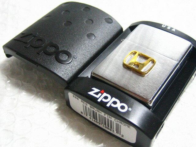 ホンダ Zippo silver製ジッポライター シルバー HONDA