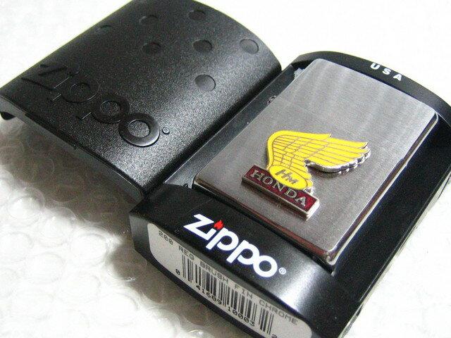 ホンダ・バイク Zippo ジッポライター/シルバー 【ZIPPO】