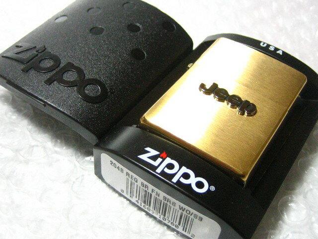 Jeep/ジープ Zippo/真鍮製ジッポライター 【ZIPPO】