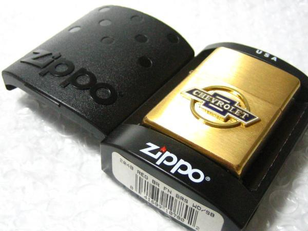 シボレー・ロゴ Zippo/真鍮製ジッポライター CHEVROLET