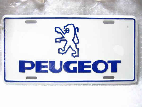 プジョー エンブレム&ロゴプレート PEUGEOET