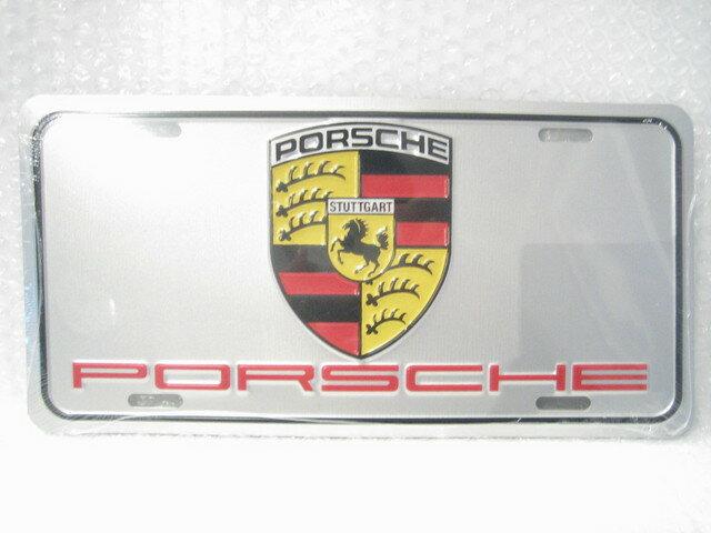 ポルシェ エンブレム&ロゴプレート PORSCHE