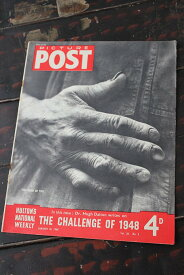 イギリス「PICTURE POST」1948年1月10日号 THE CHALLENGE OF 1948
