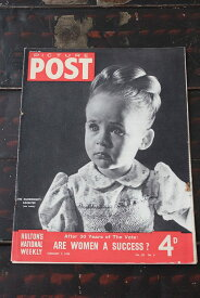 イギリス「PICTURE POST」1948年2月7日号 ARE WOMEN A SUCCESS?
