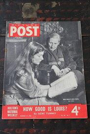 イギリス「PICTURE POST」1948年2月14日号 HOW GOOD IS LOUIS?