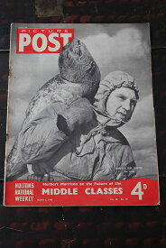 イギリス「PICTURE POST」1948年3月6日号 MIDDLE CLASSES