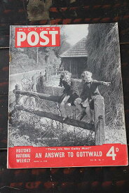 イギリス「PICTURE POST」1948年3月13日号 AN ANSWER TO GOTTWALD