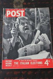 イギリス「PICTURE POST」1948年4月17日号 THE ITALIAN ELECTIONS