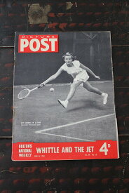 イギリス「PICTURE POST」1948年6月26日号 WHITE AND THE JET