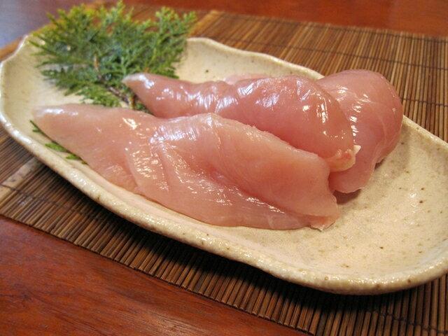 香川県産 国産 ササミ 健味鳥 鶏肉 業務用 若鶏ささみ スジ有り 2kg
