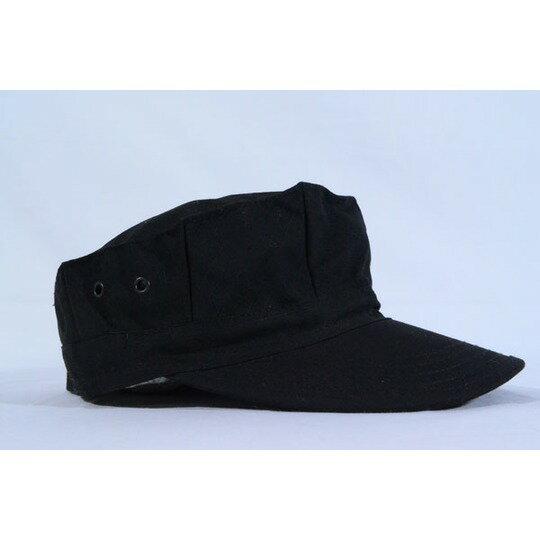 SWAT 特殊火器戦術部隊 ブラック 迷彩柄 八角帽 ミリタリーキャップ 黒色