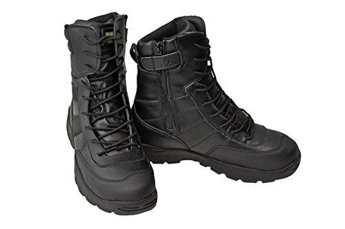 SWAT ミリタリーブーツ ジャングルブーツ タクティカルブーツ 黒色 ブラック ブーツ サバゲー サバイバルゲーム