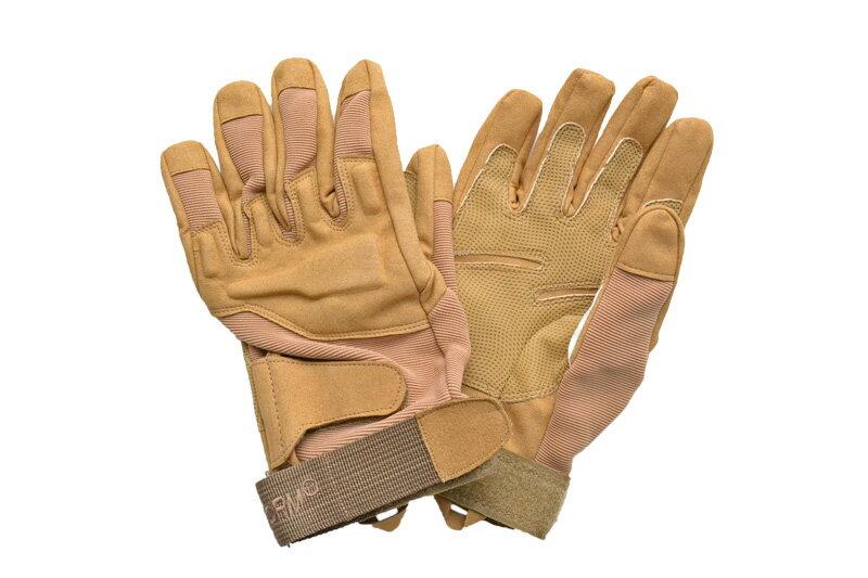 【数量限定価格】 タクティカルグローブ デザート色 茶色 タンカラー セーム革 ナイロン サバゲー グローブ 手袋