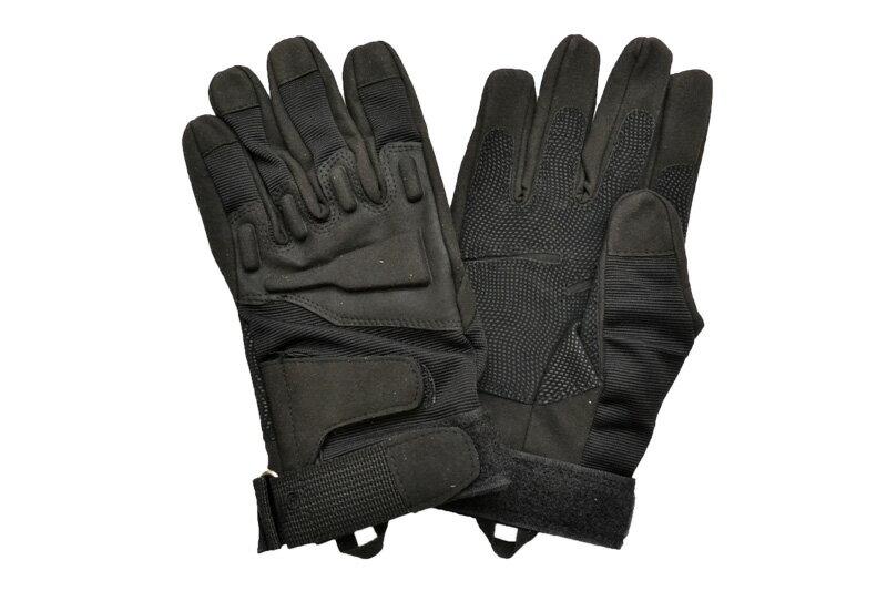 タクティカルグローブ 黒色 ブラック 豪華 セーム革 特殊ナイロン サバゲー グローブ