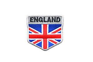 【送料無料 メール便発送商品】盾型 イギリス国旗 ミリタリー ワッペン パッチ レプリカ