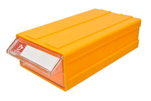 連結式 何個でも連結可能 パーツキャビネット 部品 収納 パーツケース レターケース 工具 キャビネット F1 (10個, 本体黄色/ケース透明)