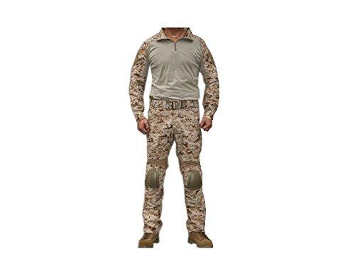 EMERSON製 CRYEタイプ コンバット迷彩服 上下セット 戦闘服 AOR1 NAVY SEALs採用タイプ迷彩柄