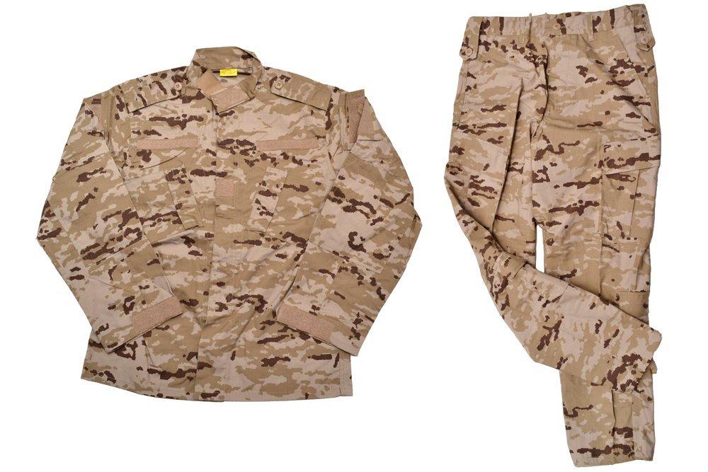 スペイン軍 デザートピクセル迷彩 迷彩服 戦闘服 上下セット